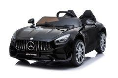 Mercedes AMG GT de 12V eléctrico con Licencia Biplaza Negro