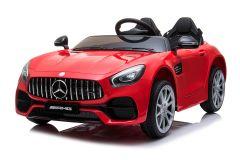 Mercedes AMG GT de 12V eléctrico con Licencia Biplaza Rojo