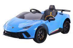 12V Lamborghini Huracan Azul con Licencia Eléctrico para niños