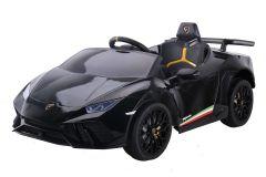 12V Lamborghini Huracan Negro con Licencia Eléctrico para niños