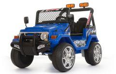 Azul Todoterreno 4x4 - Dos Plazas 12V Eléctricos Niños Vehículos