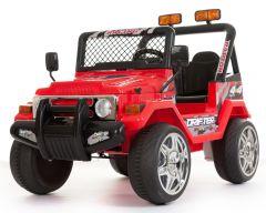 Rojo Todoterreno 4x4 - Dos Plazas 12V Eléctricos Niños Vehículos
