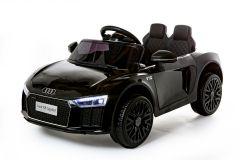 12V Audi R8 Spyder Con Licencia Negro