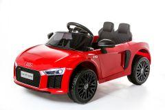12V Audi R8 Spyder Con Licencia Rojo