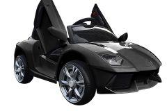 12V Estilo Deportivo Lambo Roadster Negro