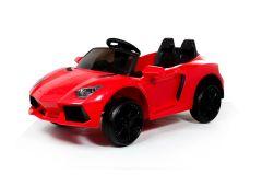 12V Estilo Deportivo Lambo Roadster Rojo