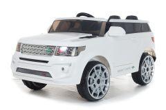 4x4 Estilo Range Sport Off Roader Blanco – 12V Coche eléctrico para niños