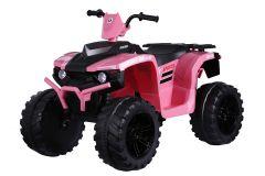 RE-ACONDICIONADOS - Moto Quad de doble motor eléctrica Rosa