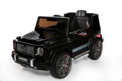 RE-ACONDICIONADOS - 12V Mercedes G63 Negro con Licencia eléctrico para niños