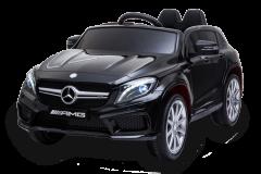 12V Mercedes GLA Negro con Licencia eléctrico para niños