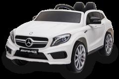 12V Mercedes GLA Blanco con Licencia eléctrico para niños
