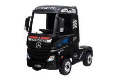 Mercedes Artic Truck de 12V con Licencia Negro