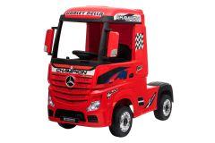 Mercedes Artic Truck de 12V con Licencia Rojo