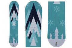 Tigris Júnior Unisex Snowboard Fijaciones  125cm