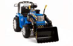 RE-ACONDICIONADOS - Tractor Azul dos velocidades con Remoto control - 12V