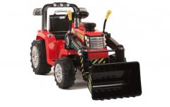 RE-ACONDICIONADOS - Tractor Rojo dos velocidades con Remoto control - 12V