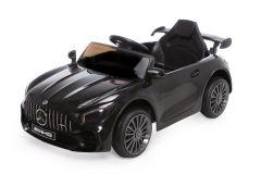 12V Mercedes GTR Negro con Licencia Eléctrico