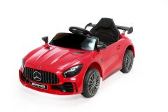 12V Mercedes GTR Rojo con Licencia Eléctrico