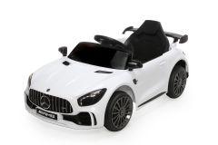 12V Mercedes GTR Blanco con Licencia Eléctrico
