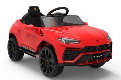 12V Lamborghini Urus Rojo con Licencia Eléctrico para niños