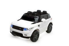 Battery Powered - 12V White Range Rover Style Ride On Car