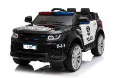 Estilo Policia Negro 12V Eléctrico para niños