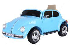 12V VW Beetle Azul con Licencia Eléctrico para niños