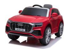 12V Audi Q8 Rojo con Licencia Eléctrico para niños