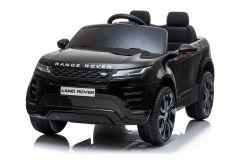 12V Range Rover Evoque con Licencia Negro Eléctrico para niños