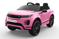 12V Range Rover Evoque con Licencia Rosa Eléctrico para niños
