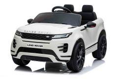 12V Range Rover Evoque con Licencia Blanco Eléctrico para niños