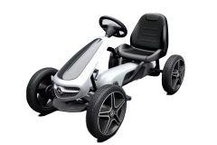 Go Kart Negro Con Ruedas De Goma